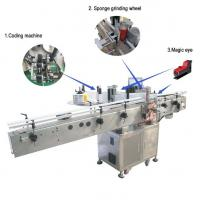 Quality Large Flat Surface Object Self Adhesive Sticker Labeling Machine Siemens PLC Controller for sale