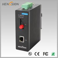 China 1 Electric Port And 1 Fx Industrial Managed Ethernet Switch , Din Rail Network Switch on sale