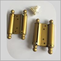Quality Steel Iron Metal Material Spring Loaded Hinges Double Action Small Size for sale