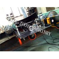 Quality Flying Saw Cutting Downspout Seamless Round Pipe Machine With Rubber Wheels For 3 inch for sale
