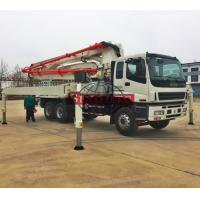 Quality 37m 39m Concrete Transport Truck LHD Drive Isuzu Chassis Schwing Pump Truck for sale