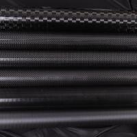 Quality Customized 3K Matte Glossy Carbon Fiber Telescopic Extension Tubing for sale