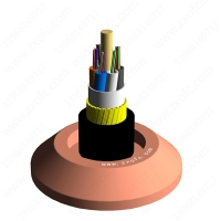 Quality 150 Meter 64 Core ADSS Optical Cable HDPE Self Supporting for sale
