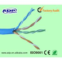 Best Best price high quality high speed 100% bare copper UTP 4pr 24awg 0.5mm cat5e lan cable/network cable wholesale