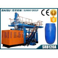 Buy cheap Fully Automatic Blow Moulding Machine , 200 Litre Blue Plastic Drum Making Machine SRB120A from wholesalers