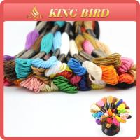 Best Cotton mercerizing Machine Embroidery Threads for cross stitch wholesale