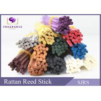Best Natural Red / Blue Reed Diffuser Replacement Sticks Bow Curly Shape wholesale