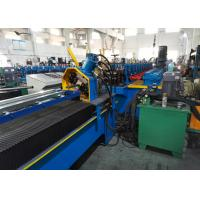 Buy cheap Diagonal Bracing Section Roll Forming Machine; Warehouse Rack C Bracing from wholesalers