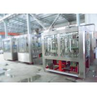 Quality Beer Tin Cans Filling Machine4 Sealing Heads Three - Point Level Control System for sale
