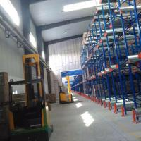 Quality Heavy Duty Radio Shuttle Racking System Custom Size For Warehouse Storage for sale