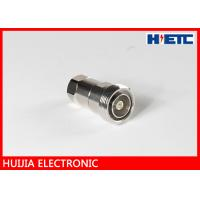 """Quality 1/2"""" Feeder Cable  Coax To Antenna Adapter , RF DIN Straight N Type Female Connector for sale"""