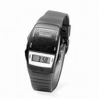 Quality Digital Memo Talking Alarm Watch, Supports Hourly Report, with 10-inch Recording Time for sale