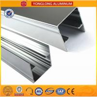 Quality Machinery Polished Aluminium Profile Silver White High Surface Brightness for sale