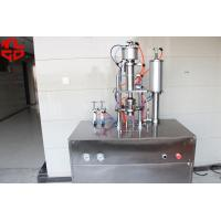 Buy cheap Under Cap Vacuum Semi Automatic Aerosol Filling Machine For Car Refrigerants from wholesalers