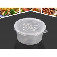 China New design many size round shape injection PP material soup cups thicker takeaway soup bowls on sale
