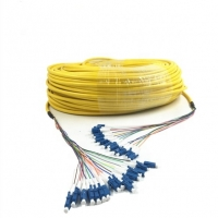 Quality CPRI Tactical Fiber Optic Cable 144cores With SC/APC Connector for sale