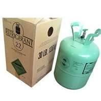 Quality R22 Refillable cylinder  Odorless 1000L CHCLF2 R22 Refrigerant Replacement for sale