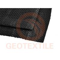 Quality Polypropylene Woven Stabilization Fabric , Silt Film Driveway Underlayment Fabric for sale