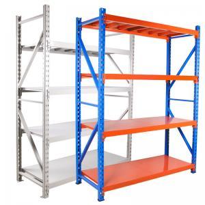 Quality Medium Duty Wide Span Q235 Steel Steel Storage Rack 200kg for sale