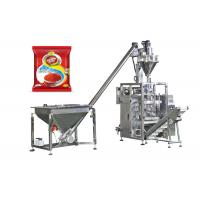Quality Chili Masala Powder Packaging Machine , Spice Filling Machine Easy Maintenance for sale