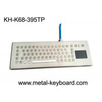 Best Water-proof desktop industrial 67 keys PC-keyboard layout with touchpad and 3 mouse buttons wholesale