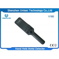 Quality V160 Hand Held Metal Detector Body Scanner High Sensitivity For Electronic Factory for sale