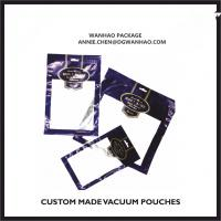 Custom Printed Vacuum Pouches, High Barrier Vacuum Packaging Bags for sale
