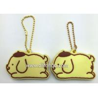 China Silicone Key Cover high quality custom 3D soft PVC key chain silicone key rings holder on sale