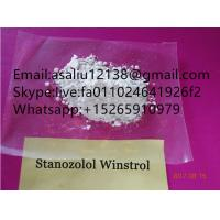 Quality Winstrol Powder CAS 10418 03 8 Anabolic Steroids For Fitness Exercise pure 99.9% for sale
