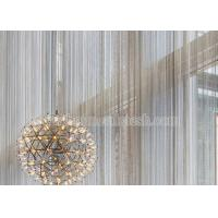 Quality Metal Coil Drapery Screen For Architectural Decoration for sale