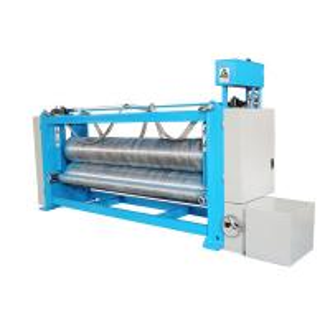 China Automatic 3m Textile Fabric Calender Machine , Heat Pressed Fabric Finishing Machine on sale