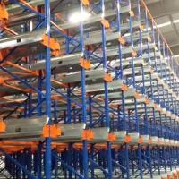 Quality Customized Radio Shuttle Pallet Racking Heavy Duty For Warehouse Storage for sale