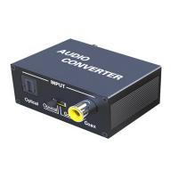 Quality SPDIF Audio Optical TOSLINK to Coaxial Bi-directional Converter for sale