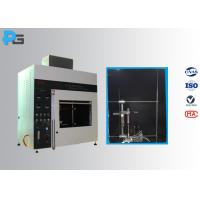 Quality Vertical / Horizontal Flame Apparatus Lab Testing Equipment 5V / HB/ V-0/1/2 UL94 for sale