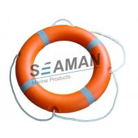 Quality 2.5kgs HDPE SOLAS Life Saving Ring CCS/MED for Marine Lifesaving Ring with rope for sale