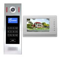 Quality High Quality building Door Video Phone Cat5 Wire Apartment Video Door Phone 7 inch LCD color indoor monitor for sale
