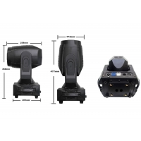 Quality 10/16CH Led Spot Moving Head Light / Moving Head Follow Spot 180W/200W LED Zoom Stage Light for sale