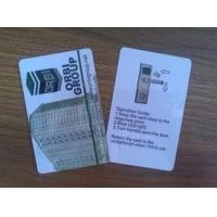 Quality 125KHz / 13.56MHz PVC blank plastic cards for access control long read range for sale