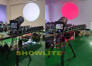 Quality 56000LM  400W Colorful Focus Zoom Tracking Stage LED Follow Spot Light for sale