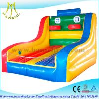China Hansel Inflatable sport games basketball game on sale