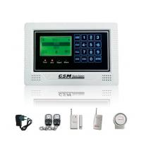Quality Remote Control LCD Screen Wireless GSM Alarm System(YL-007M2BX) With Built-in LI Battery for sale