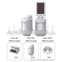 China The Solar gsm wireless home gsm alarm monitor on sale