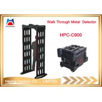 Buy Intelligent touch screen digital portable walk through metal detector at wholesale prices