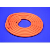Quality Round Silicone Sponge Rubber Strips 10-80a Hardness For Bottle Can Sealing for sale