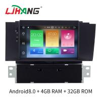 Quality Double Din Android 8.0 Citroen Car Stereo Player AM FM Radio For Citroen C4L for sale