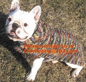 China Knit Pet Sweater, Custom Knit Dog Sweater, hand knit dog sweaters, Dog Knitting Wool on sale