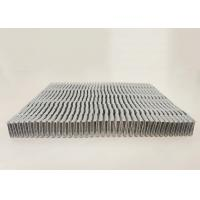 Quality Durable Heat Exchange Radiator Fin Aluminum Car Parts For New Energy Vehicle for sale