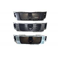 China ABS Plastic Chrome Grille Guard Front , Custom Mesh Grills For Nissan Navara NP300 on sale