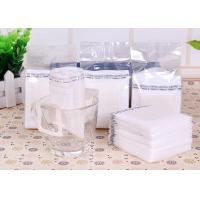 Quality Narrow Single Serve Iced Coffee Filter Bag White Color With Food Grade Material for sale