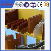 OEM aluminum profiles for heat sink manufacturer, aluminum company supply types of profile